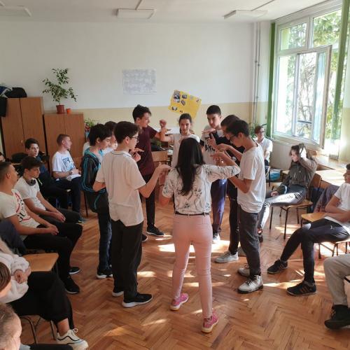 Международен младежки център - Стара Загора гостува в часовете по здравно образование
